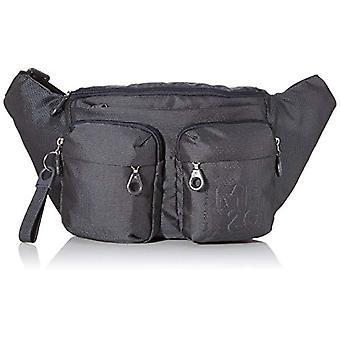 Mandarin Duck Md20 Minuteria Black Woman Shoulder Bag (Steel) 44x23x95 cm (W x H x L)