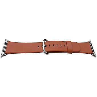 Iwatch rem orange 42mm kalv rostfritt stål spänne