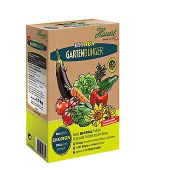 HAUERT Biorga Garden Fertilizer, 1.5 kg