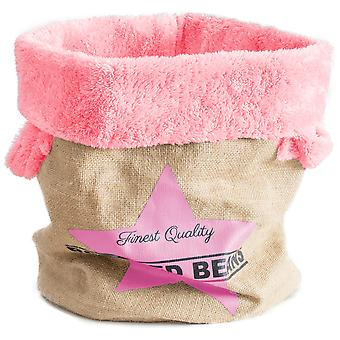 Ferribiella Padded Basket Jute 29X38Cm (Cats , Bedding , Beds)