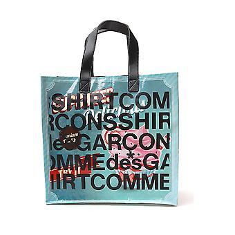Comme Des Garçons Shirt S286101 Men's Multicolor Nylon Tote