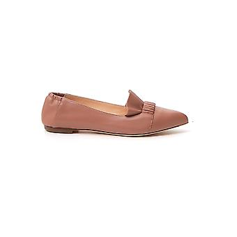 Agl Attilio Giusti Leombruni D538098pcsofty0353 Women's Pink Leather Loafers