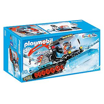Playmobil 9500 Άροτρο χιονιού οικογενειακής διασκέδασης