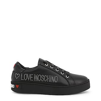 Love Moschino Original Women Fall/Winter Sneakers - Black Color 57194