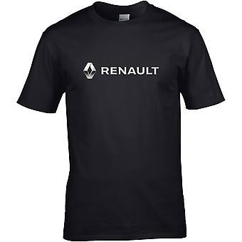 Renault Metallic - Car Motor - DTG Printed T-Shirt