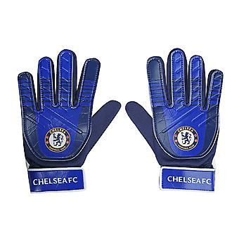 Chelsea FC Officiel Football Gift Kids Jeunes Gardien de but Gants gardien de but