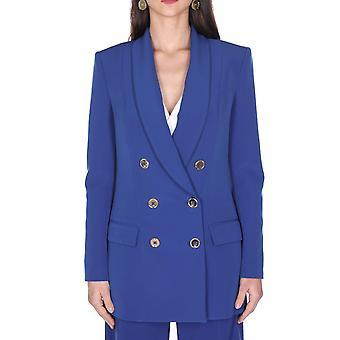 Elisabetta Franchi Gi94701e2565 Women's Blue Viscose Blazer