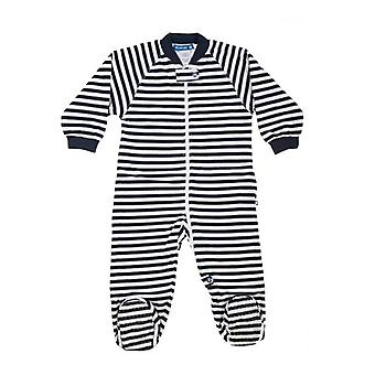 uh-oh! Baby Sleeping Bag with Legs 1.0 tog Warmth Rating Navy Stripe