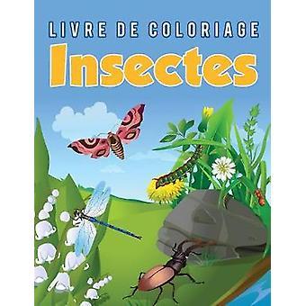 Livre de coloriage Insectes by Scholar & Young