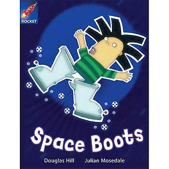Space Boots: White Reader 4 (Rigby Star Independent)