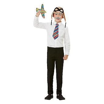 Børns drenge David Walliams bedstefars store flugt Fancy kjole Kit Book Day