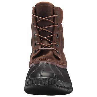 Sorel Mens Cheyanne II Leather Closed Toe Ankle Cold Weather Boots