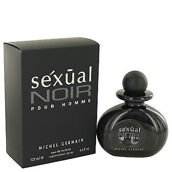 Sexual Noir Eau De Toilette Spray By Michel Germain 4.2 oz Eau De Toilette Spray