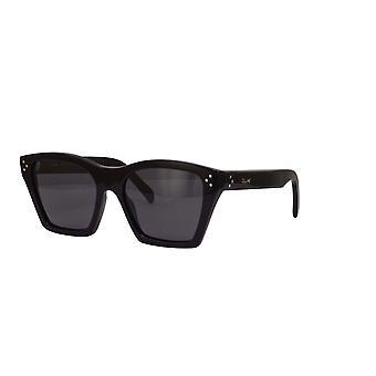 Celine CL40090I 01A Shiny Black/Smoke Sunglasses
