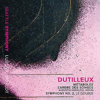 Dutilleux / Seattle Symphony / Morlot / Hadelich - Metaboles - Violin Concerto L'Arbre Des Songes [CD] USA import