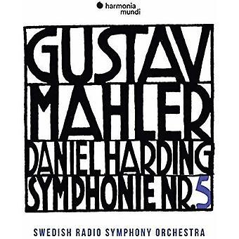 Swedish Radio Symphony Orchestra / Harding - Mahler: Symphony No.5 [CD] USA import