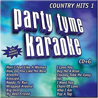 Party Tyme Karaoke - Country Hits 19(Dc&G [CD] USA import