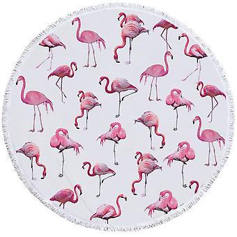 Flamingo patroon strandlaken