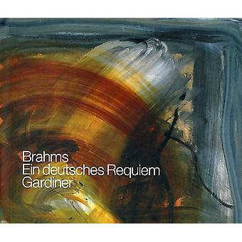 Brahms/Schutz - Brahms: Ein Deutsches Requiem [Live 2007 Recording] [CD] USA import