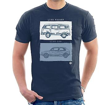 Volkswagen like far like son mäns T-shirt