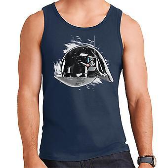 Originale Stormtrooper Imperial Gunner hjelm menns Vest