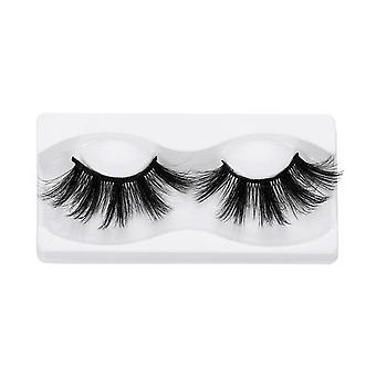 3d Mink False Eyelashes 100% Cruelty Free, Criss Cross Natural Lashes - Wispies
