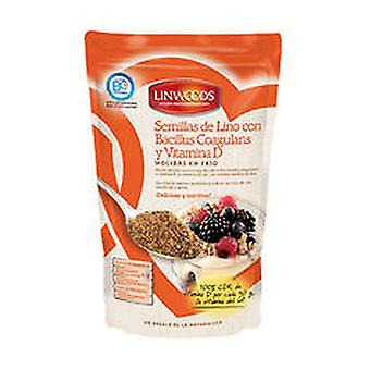 Ground Flax Seeds Eco with Probiotic and Vitamin D 200 g