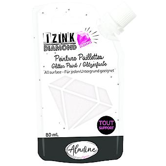 Aladine Izink Diamond Glitter Paint 24 Carats Pearly 80ml