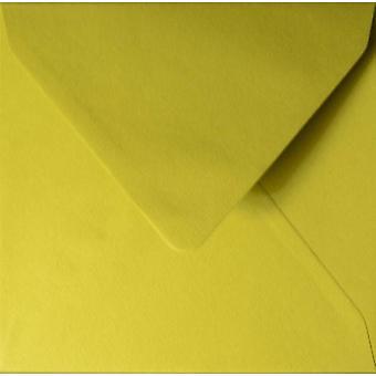 Papicolor 6X Sobre 140X140mm Vert De Moutarde