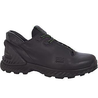 Ecco Mens Exohike Low Gore-Tex Waterproof Walking Hiking Boots Shoes - Black