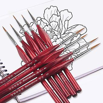 Extra Fine Detail Paint Brushes For Artist - Miniature Model, Maker Tool Set