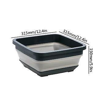 Bærbar foldning håndvask Hjem - Teleskopisk Plast Vaskeri Tub