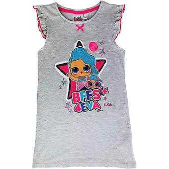 Girls ET2151 LOL Surprise Short Sleeve Nightdress / Pyjama