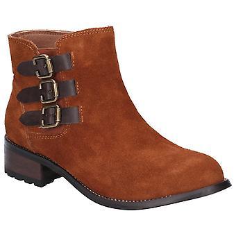 Divaz women's lexi slip on buckle boot black 27162-45641