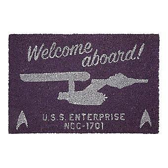Star Trek 'Welcome Aboard' Doormat