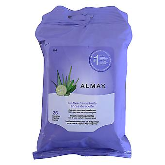 Almay Biodegradable Micellar Makeup Remover Cleansing Towelettes