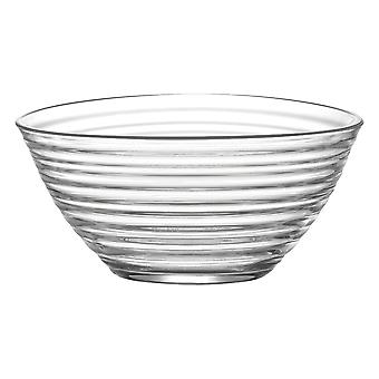LAV Derin Glass Salad Bowl - 2 litraa - Single Mixing Bowl / Tarjoilukulho pastalle / popcornille