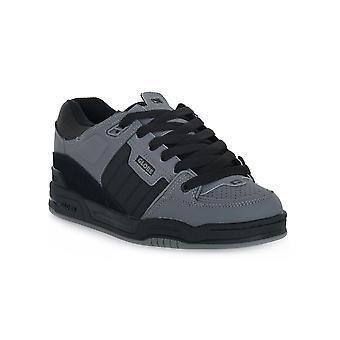 Globe fusion gunmetal skate shoes