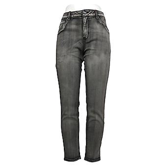Laurie Felt Women's Jeans Colored Zip Fly Skinny Gray A374325