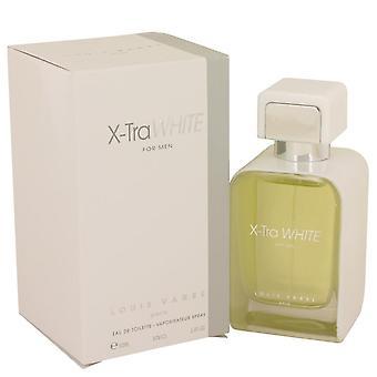 X tra valkoinen eau de toilette spray kirjoittanut louis varel 539797 100 ml