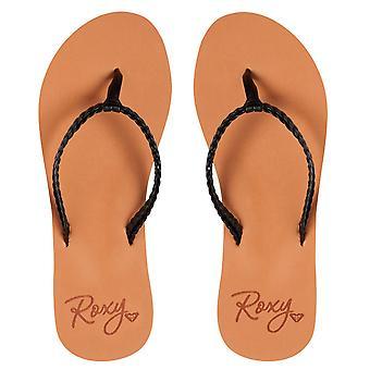 Roxy Costas Flip Flops - Black