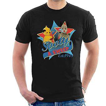 Sooty & Sweep Retro Water Sproeier Heren's T-shirt