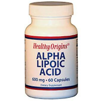 Healthy Origins Alpha Lipoic Acid, 600 Mg, 60 Caps