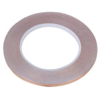 Brown 5mm x 30m Copper Foil Tape Single-sided Conductive Adhesive EMI Shielding