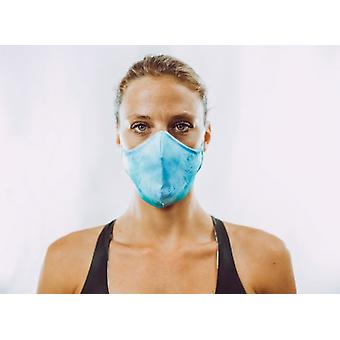 Non-medical oral mask | Blue Palmtree | 4-Lows