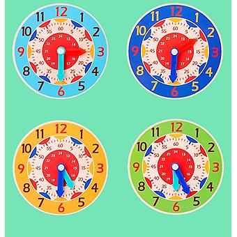 Wooden Clock Toys Preschool Teaching