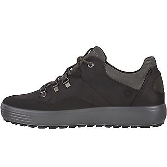 Ecco Mens Soft 7 Low GORE-TEX Waterproof Walking Hiking Trainers Schoenen Zwart