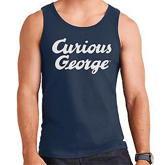 Curious George Big Logo Men's Vest