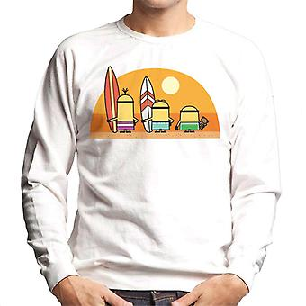 Me Minions Despicable Surfando Sunset Men's Sweatshirt