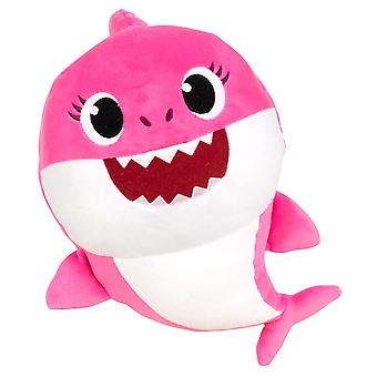 Baby Shark Pink Stuffed Toy With Sound Stuffed Toypink 28cm